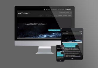 Nouveau site Pryntec